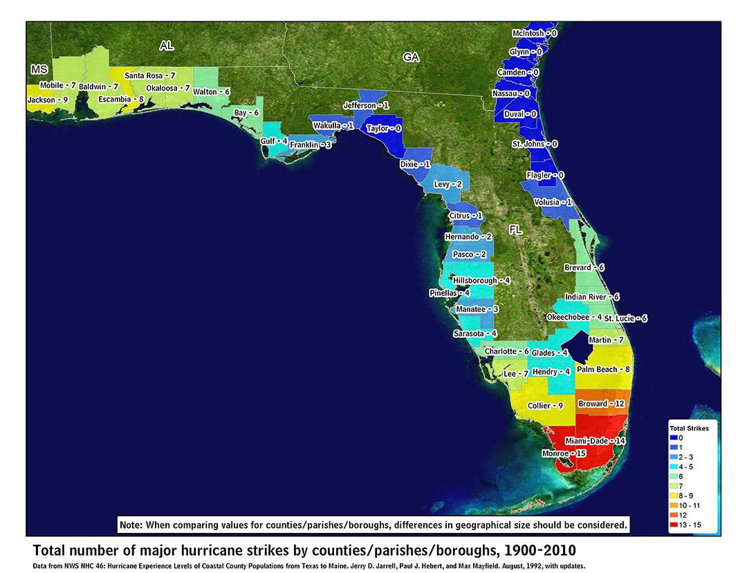 Florida Hurricanes Hurricanes And Flooding