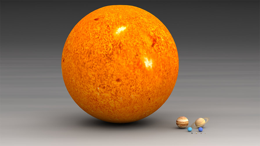Our Solar System | The Size of Space