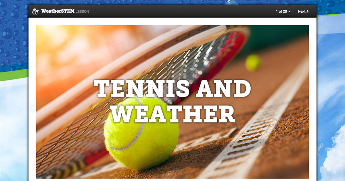 Forces on a Tennis Ball | Tennis and Weather
